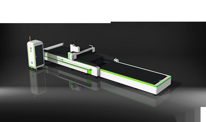全包围交换平台式光纤激光切割机
