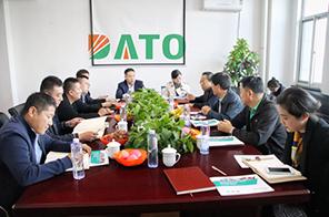 热烈欢迎省、市、区贸促会领导莅临公司参观指导
