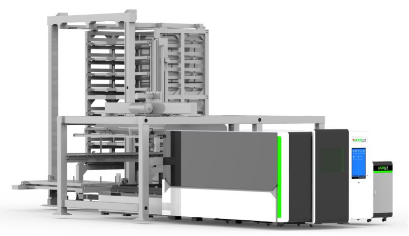 DT-FE3015ALG交换平台自动上下料系统